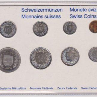 Zwitserland set 1976 MS 60