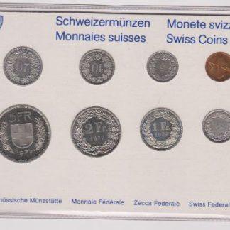 Zwitserland set 1977 MS 60