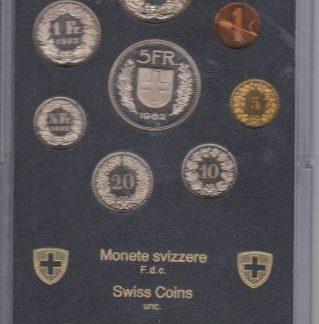 Zwitserland set 1982 MS 60