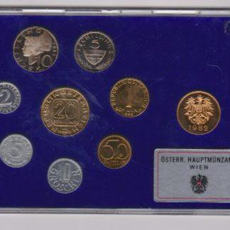 Oostenrijk set 1982 Proef
