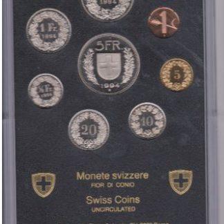 Zzwitserland set 1994 MS 60