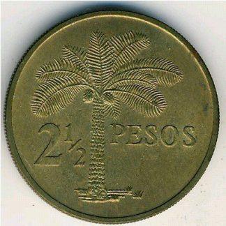 Guinea-Bissau 2 1/2 Pesos 1977