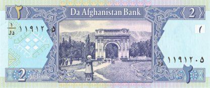 Afghanistan 2 Afhanis 2002 UNC