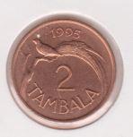 Malawi 2 Tambala 1995 UNC