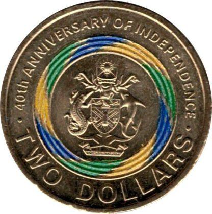 Solomon Island 2 Dollar 2018 UNC