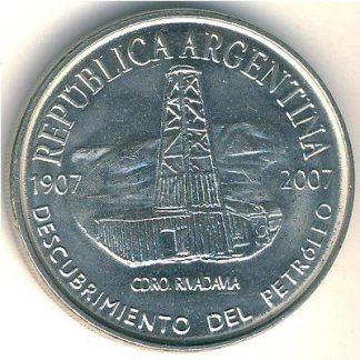 2 Pesos 2007 UNC