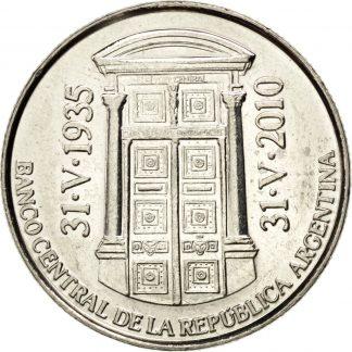 2 Pesos 2010 UNC