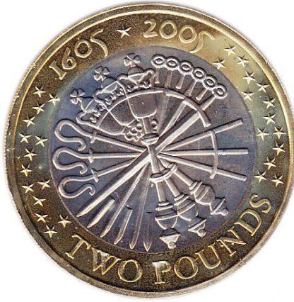 Engeland 2 Pound 2005 UNC