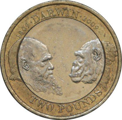 Engeland 2 Pound 2007 UNC
