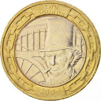 Engeland 2 Pound 2006 UNC