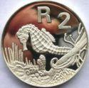 Zuid Afrika 2 Rand 1997 Proof