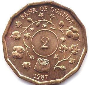 2 Shilling 1987 UNC