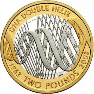 Engeland 2 Pound 2003 UNC