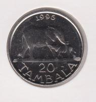 Malawi 20 Tambala 1996 UNC