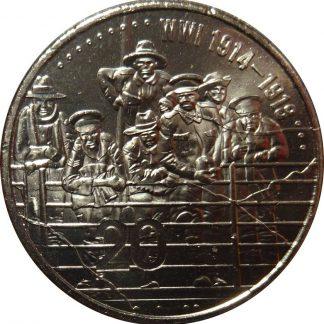 20 Cent 2015 UNC