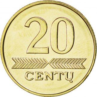 Litouwen 20 Centu 1999 UNC