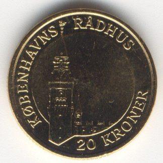 Denemarken 20 Kronen 2007 UNC