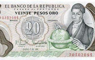 20 Pesos 1982 UNC
