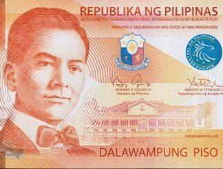 Filippijnen 20 Piso 2013 UNC