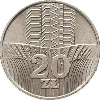 20 Ztoty 1973 UNC