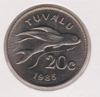Tuvalu 20 Cent 1985 UNC