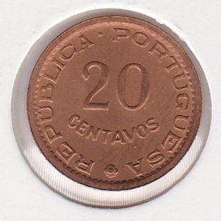 20 Centavos 1973 UNC