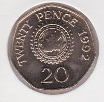 20 Pence 1992 UNC