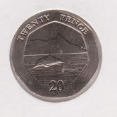 Gibraltar 20 Pence 2020 UNC