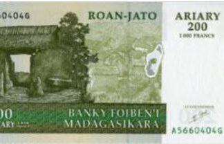 Madagaskar 200 Ariary 2004 UNC