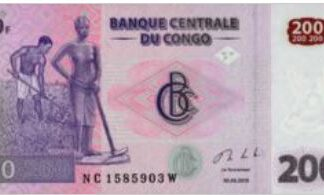 Du Congo 200 Frank 2013 UNC