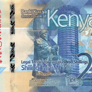Kenya 200 Shilling 2019 UNC