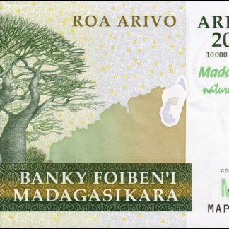 Madagaskar 2000 Ariary 2004 UNC
