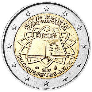 Belgie 2 Euro Speciaal 2007 UNC