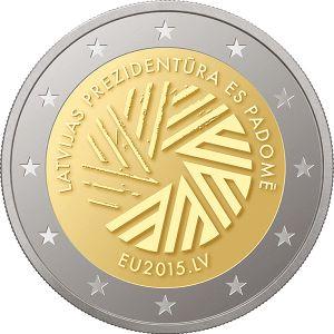 2 Euro 2015 UNC