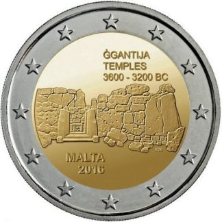 Malta 2 Euro Speciaal 2016 UNC