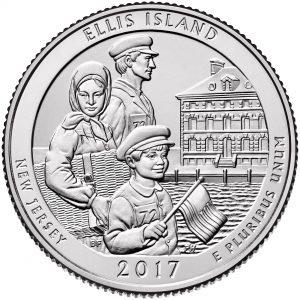 Amerika 1/4 Dollar 2017 D UNC