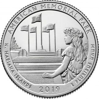 Amerika 1/4 Dollar D 2019 UNC