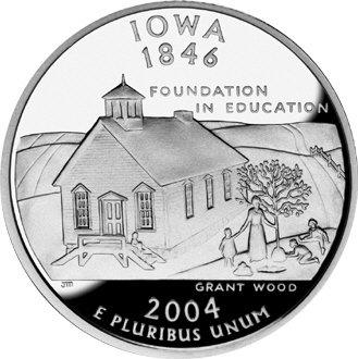 Amerika 1/4 Dollar 2004 D