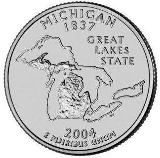 Amerika 1/4 dollar 2004 P