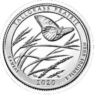 Amerika 1/4 Dollar 2020 S UNC