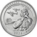 Amerika 1/4 Dollar 2021 P UNC