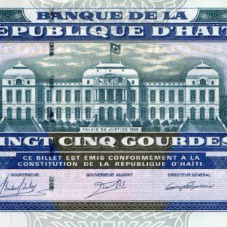 Haiti 25 Gourdes 2015