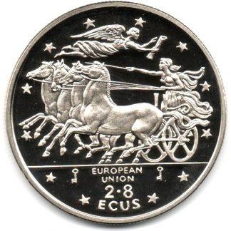 2,8 Ecus 1994 UNC