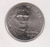 Amerika 5 Cent 2020 D
