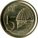 Singapore 5 Cent 2013 UNC