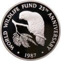 Cayman Island 5 Dollar 1987 Proof