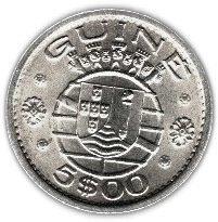 Guinea-Bissau 5 Escudo 1973 XF