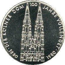 Duitsland 5 Mark 1980 UNC
