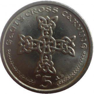 Eiland Man 5 Pence 2001 UNC