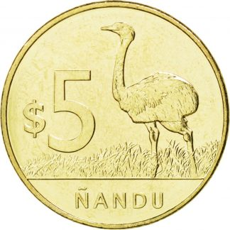 5 Pesos 2011 UNC